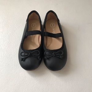 Cat &Jack Black Mary Janes size 7 Toddler